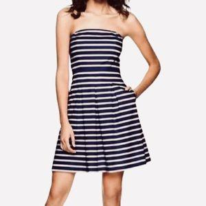 🖤🤍 Zara Black and White Strapless Dress